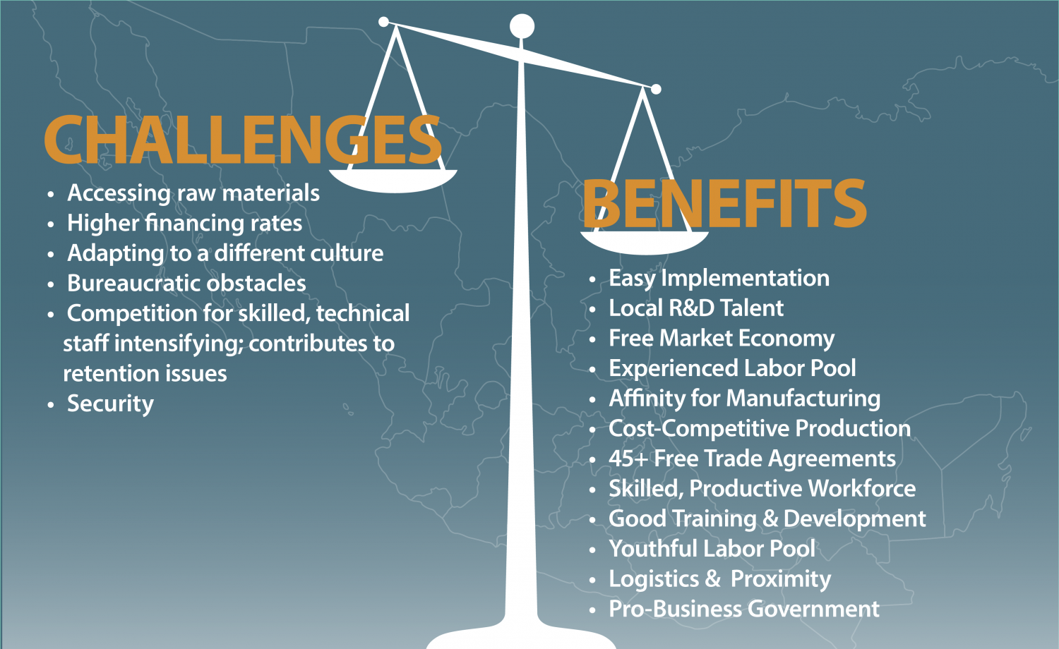 Mexico manufacturing benefits