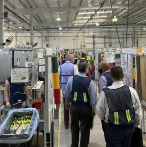 US-based execs visit Entrada Group's Mexico Manufacturing Campus